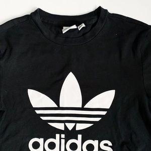 ADIDAS   classic black t-shirt ( Small)